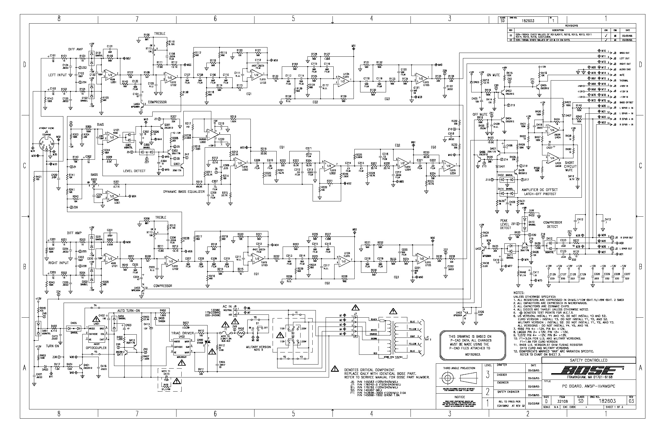 Bose AM-5P Schematic.pdf