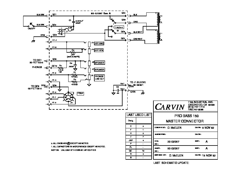 CARVIN   PRO BASS 150   MASTER CONNECTOR.pdf