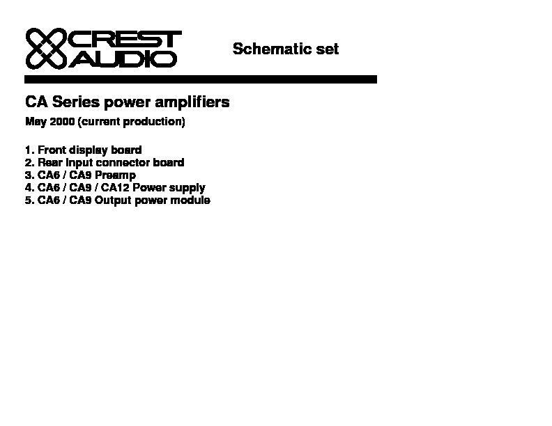 Crest Audio CA Series.pdf